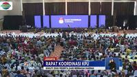 Rapat yang diselenggarakan di kawasan Ancol, Jakarta Utara, Sabtu pagi ini, dihadiri antara lain Ketua KPU Arief Budiman dan Menteri Dalam Negeri Tjahjo Kumolo serta 3.500 peserta.