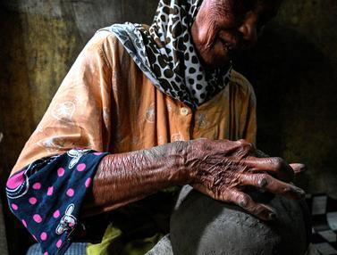 FOTO: Potret Pembuat Tembikar di Banda Aceh