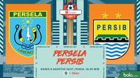 Shopee Liga 1 - Persela Lamongan Vs Persib Bandung (Bola.com/Adreanus Titus)