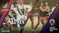 Timnas Indonesia U-23 di Asian Games 2014 dan 2018. (Bola.com/Dody Iryawan)