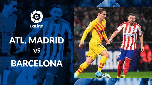 Berita video statistik Atletico Madrid vs Barcelona pada lanjutan La Liga 2019-2020 pekan ke-15, Senin (2/12/2019) di Stadion Wanda Metropolitano, Madrid.