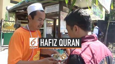 Seorang tukang bakso di Surabaya menggratiskan dagangannya bagi para penghafal Alquran. Aksi ini sebagai apresiasi bagi para hafiz yang telah serius menghafal Alquran.