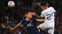 Usai itu Manchester City semakin gencar melakukan serangan dan kembali memperoleh peluang melalui Joao Cancelo. (AFP/Franck Fife)