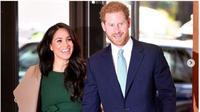 Meghan Markle bersama Pangeran Harry. (dok.Instagram @meghanmarkle_official/https://www.instagram.com/p/B71kXvBn8-s/Henry)