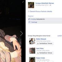 Soraya Abdullah sekarang fokus pada keluarga dan dakwah. (Facebook: Soraya Abdullah  Balvaz)