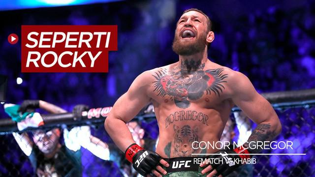 Berita video petarung MMA, Conor McGregor, menanggapi soal rematch dengan Khabib Nurmagomedov setelah meraih kemenangan atas Donald 'Cowboy' Cerrone di UFC 246.