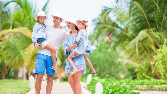 Ilustrasi wisata keluarga