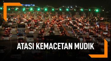 Upaya Kemenhub Atasi Kemacetan Masa Mudik