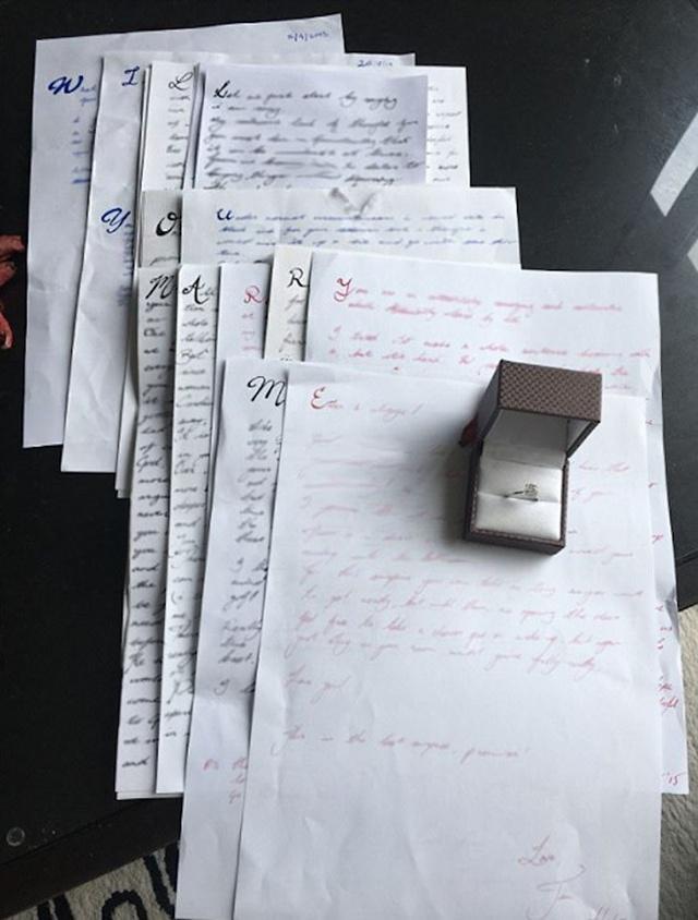 Pria Ini Lamar Pacar Pakai Surat Cinta Romantisnya Bikin