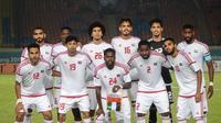 Timnas Indonesia U-23 bakal menghadapi Uni Emirat Arab pada babak 16 besar Asian Games 2018. (INASGOC/Sup)