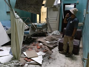 Kerusakan Bangunan Akibat Gempa Jatim