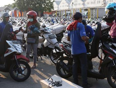 Mengintip Aktivitas Mudik Gratis Sepeda Motor