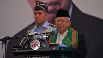 Ma'ruf Amin Minta NU Berperan Membuat Politik Nasional Lebih Beretika