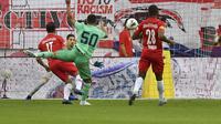 Eden Hazard mencetak gol pertamanya di Real Madrid (AP)