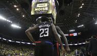Selebrasi Pemain Clippers (AP)