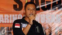 Agus Harimurti Yudhoyono (AHY) bertemu pengurus wilayah Nahdlatul Ulama (PWNU) DKI Jakarta Jumat Malam kemarin.