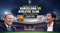 Barcelona vs Athletic Bilbao (Triyasni/Liputan6.com)