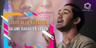 Begini cara Reza Rahadian dalami karakter tunanetra dalam film The Gift.