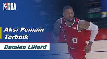 Berita Video Damian Lillard Bawa Portland Trail Blazers Menang Lawan Indiana Pacers 139-129
