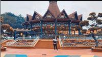 Tempat Wisata Mulai Dibuka, Aura Kasih Pilih ke Ancol.  (dok.Instagram @aurakasih/https://www.instagram.com/p/CCNJzFyHayJ/Henry)