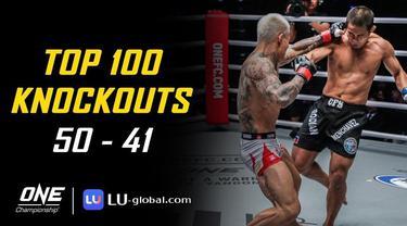 Berita Video Top 100 Knockouts di ONE Championship, Aksi Timofey Nastyukhin Kalahan Edoard Folayang