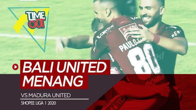 Berita video Time Out Shopee Liga 1 2020 kali ini membahas salah satu pertandingan pada pekan ketiga yaitu antara Bali United melawan Madura United.