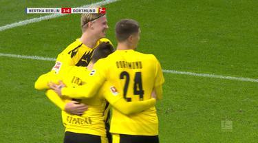 Berita video, Erling Haaland cetak 4 gol saat Borussia Dortmund melawan Hertha Berlin di Bundesliga pekan ke-8