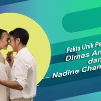 Deretan fakta unik pernikahan Dimas Anggara dan Nadine Chandrawinata. (Foto: Instagram/ifaanggara Desain: Nurman Abdul Hakim/Bintang.com)
