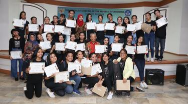 Kursus BIPA berlangsung selama tujuh bulan dari Mei hingga November 2018 dan diikuti oleh hampir 300 orang di Davao City Filipina (KJRI Davao City)