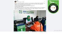 Klaim Akun Facebook BPJS Kesehatan Beri Bantuan Rp 50 Juta untuk TKW. (Facebook)