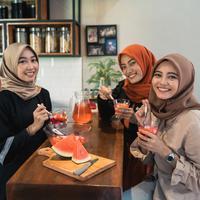 Menjaga pola makan setelah Ramadan./Copyright shutterstock.com