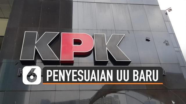 Pimpinan KPK telah membentuk tim transisi sejak 18 September 2019. Ter kendala dalam KPK menyesuaikan UU terbaru.