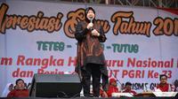 Wali Kota Surabaya Tri Rismaharini. (Liputan6.com/Dian Kurniawan)