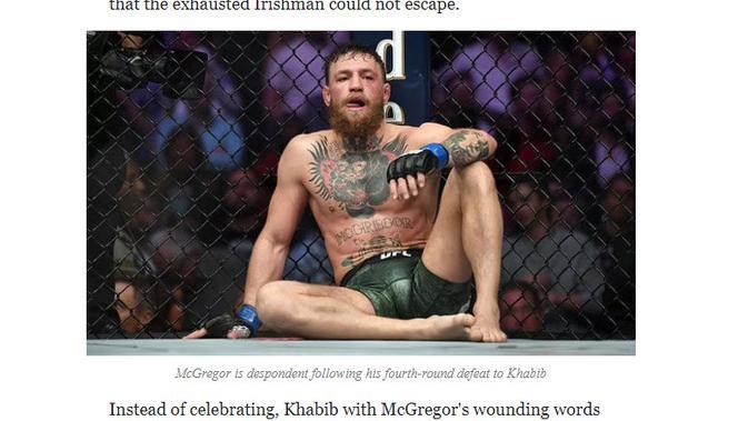 Cek Fakta Liputan6.com menelusuri klaim foto petarung MMA Conor McGregor jadi gembel
