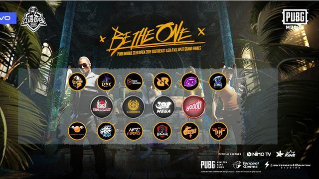 PUBG Mobile Club Open 2019 tahap final Asia Tenggara