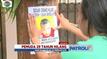 Seorang pria berkebutuhan khusus bernama Agus (29) hilang dari rumah. Jika pernah melihat atau memiliki informasi sila hubungi keluarga Agus.