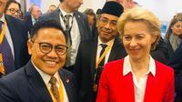 Ketua Umum PKB Muhaimin Iskandar atau Cak Imin saat berada di Kroasia. (Istimewa)