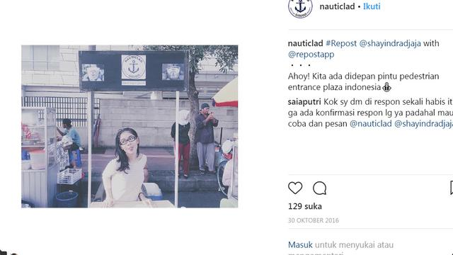 Anak Iis Dahlia, Juwita Salshadilla (Instagram/ @nauticlad)