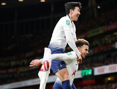 Tottenham Hotspur Pecundangi Arsenal di Piala Liga Inggris