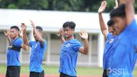 Timnas Indonesia sedang berlatih di Stadion Madya, Jakarta, Selasa (9/2/2021). (Dokumentasi PSSI).