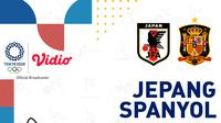 Olimpiade 2020 - Jepang Vs Spanyol (Bola.com/Adreanus Titus)