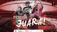 Persija Jakarta, Juara Piala Presiden 2018. (Bola.com/Dody Iryawan)