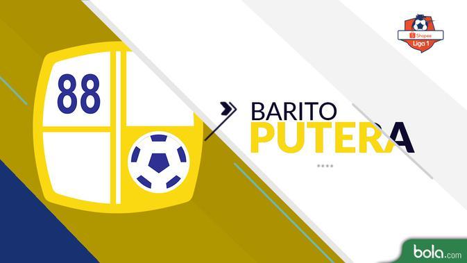 Barito Putera Shopee Liga 1 2019 (Bola.com/Adreanus Titus)