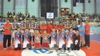 Tim putra Bhayangkara Samator siap kembali jadi yang terbaik di Livoli 2018. (Istimewa)