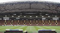 Suasana Stadion Shah Alam yang akan menjadi tempat pertandingan Grup B cabang sepak bola SEA Games 2017 Malaysia antara Indonesia melawan Thailand pada Selasa (15/8/2017). (Bola.com/Vitalis Yogi Trisna)