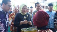 Menteri Ketenagakerjaan Ida Fauziyah meresmikan dimulainya Pelatihan Berbasis Kompetensi (PBK) Gelombang I Tahun 2020 di UPT Balai Latihan Kerja Lubuklinggau, Sumatera Selatan, Minggu (23/2).