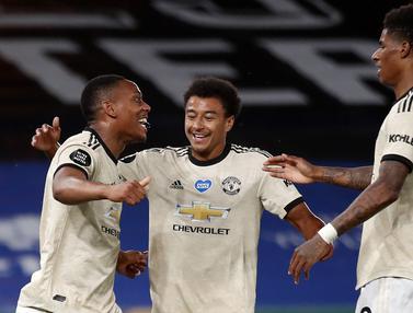 Bungkam Crystal Palace, Manchester United Panaskan 4 Besar Klasemen