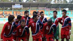 Garuda All Star yang diperkuat pemain-pemain ISL. (Bolacom/Arief Bagus)