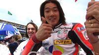 Norifumi Abe atau Norick Abe, pembalap Jepang yang diidolai Valentino Rossi. (Istimewa)