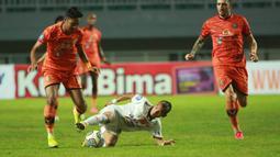 Riko Simanjuntak. Pemain Persija Jakarta berusia 29 tahun ini memiliki nilai pasar Rp.4,78 miliar. Total telah tampil 4 kali dalam 6 laga di BRI Liga 1, ia berhasil menyumbang 1 gol untuk Macan Kemayoran. (Bola.com/M. Iqbal Ichsan)